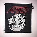 Anthrax Not Man Woven Vintage Patch