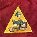 Manilla Road - Crystal Logic Woven Patch