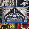 Scorpions - Patch - Scorpions VTG 1980 British Tour Woven Patch