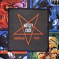 Woven Mötley Crüe European Tour VTG Patch