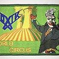Toxik - World Circus Woven Patch (Green border)