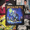 Megadeth - Rust In Piece Woven Patch