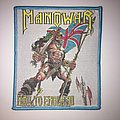 Manowar - Hail To England Woven Patch