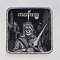 Crucifixion - Patch - Crucifixion - Green Eyes Woven Patch