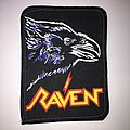 Vintage Printed Raven Patch