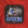 Razor - Patch - Razor - Violent Restitution Woven Patch