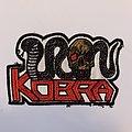 Embroidered Iron Kobra Patch