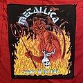 Metallica - Jump In The Fire Original Backpatch