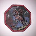 Grim Reaper - Patch - Official Grim Reaper - See You In Hell Woven Patch (Red Glitter Border)
