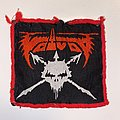 Voivod - Patch - Woven VTG Voivod Patch (Red border)