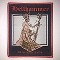 Hellhammer - Apocalyptic Raids Woven Patch