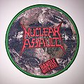 Nuclear Assault - Handel With Care Woven Patch