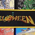 Helloween - Patch - Helloween - I Want Out Woven Strip