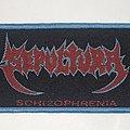 Sepultura - Schizophrenia Woven Super Strip Patch