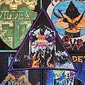 Dark Angel - Darkness Descends Woven Triangle