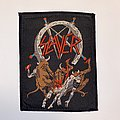 Slayer - Patch - Slayer - Hell Awaits VTG Woven Patch