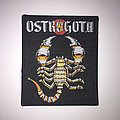 Ostrogoth - Ecstasy And Danger Woven patch