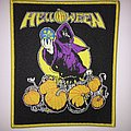 Woven Helloween 1989 shirt design patch