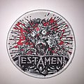Testament - Return To The Apocalyptic City Woven Patch