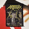 Anthrax - Among The Living Original Woven Patch
