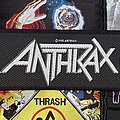 Anthrax - Persistence Of Time Original Woven Strip Patch