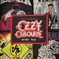 Ozzy Osbourne - Talk To The Devil (British Tour) Original Woven Patch