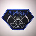 Midnight - Black Rock N Roll Woven Patch