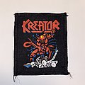 Kreator - Patch - Kreator - Pleasure To Kill (VTG?) Printed Patch