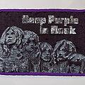 Deep Purple - Patch - Deep Purple - In Rock VTG Woven Patch ( Purple Border)