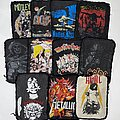 Metallica - Patch - Early 1980s Rounded Edge Printed Patches