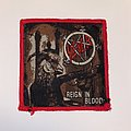 Slayer - Patch - Slayer - Reign In Blood VTG Woven Patch