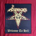 Venom - Patch - Venom - Welcome To Hell Woven Backpatch