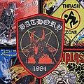 Woven Bathory 1984 Patch