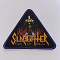 Slaughter (Can) - Patch - Slaughter - Fuck Of Death Woven Patch