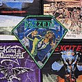 Hazzerd - Patch - Hazzerd - Delirium Official Woven Patch ( Green Glitter Border)