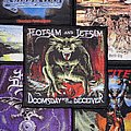 Flotsam And Jetsam - Patch - Flotsam And Jetsam - Doomsday For The Deceiver Woven Patch