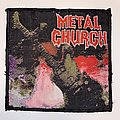 Metal Church - Patch - Metal Church - Metal Church Woven Patch
