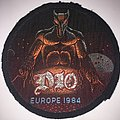 Dio - Europe 1984 Tour Woven Patch