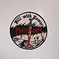 Manowar - Patch - Manowar - Kill With Power Embroidered Patch