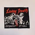 Living Death - Patch - Living Death - Vengeance Of Hell Embroidered Patch