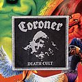 Coroner - Death Cult Woven Patch