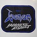 "Venom - Patch - Venom - Japanese Assault ""1986"" Embroidered Patch"