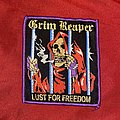 Grim Reaper - Lust For Freedom Woven Patch