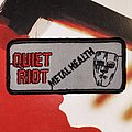 Quiet Riot - Metal Health Original Embroidered Patch