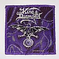 King Diamond - Patch - King Diamond - The Eye Woven Patch