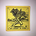 Virtue - We Stand To Fight Woven Patch