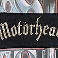 Motörhead - Patch - VTG Motörhead Superstrip Woven Patch