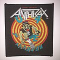 Anthrax - State of Euphoria Vintage Woven Patch