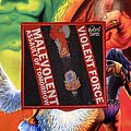 Violent Force - Malevolent Assault For Tomorrow Woven Patch