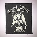 Vintage Printed Angel Witch Patch